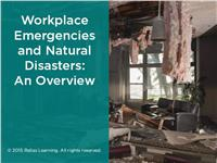 Workplace Emergencies and Natural Disasters: An Overview